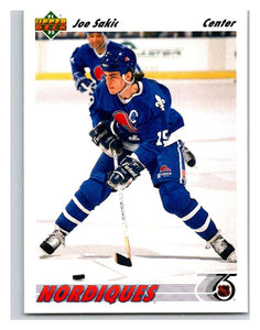 1991-92 Upper Deck #333 Joe Sakic Mint