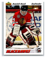 1991-92 Upper Deck #335 Dominik Hasek Mint RC Rookie