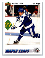 1991-92 Upper Deck #386 Wendel Clark Mint