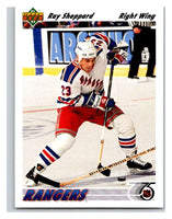 1991-92 Upper Deck #390 Ray Sheppard Mint