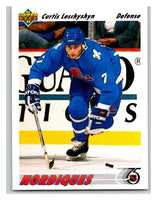 1991-92 Upper Deck #413 Curtis Leschyshyn Mint
