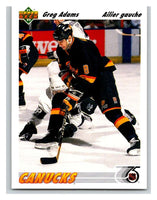 1991-92 Upper Deck #426 Greg Adams Mint