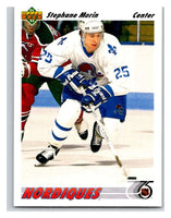 1991-92 Upper Deck #433 Stephane Morin Mint