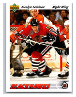1991-92 Upper Deck #438 Jocelyn Lemieux Mint