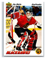 1991-92 Upper Deck #443 Jim Waite Mint