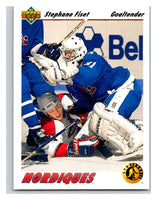 1991-92 Upper Deck #452 Stephane Fiset SR Mint RC Rookie