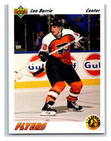 1991-92 Upper Deck #459 Len Barrie Mint RC Rookie