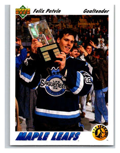 1991-92 Upper Deck #460 Felix Potvin SR Mint RC Rookie