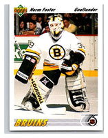 1991-92 Upper Deck #465 Norm Foster Mint