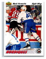 1991-92 Upper Deck #470 Mark Vermette Mint
