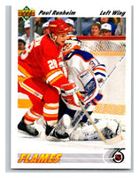 1991-92 Upper Deck #472 Paul Ranheim Mint