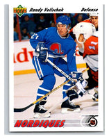 1991-92 Upper Deck #484 Randy Velischek Mint
