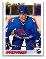 1991-92 Upper Deck #486 Craig Wolanin Mint