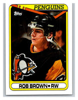1990-91 Topps #19 Rob Brown Mint