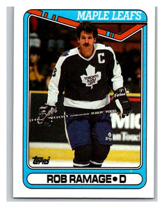1990-91 Topps #317 Rob Ramage Mint