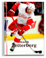 2007-08 Upper Deck #5 Henrik Zetterberg Red Wings