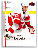 2007-08 Upper Deck #7 Brett Lebda Red Wings