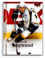 2007-08 Upper Deck #13 David Legwand Predators