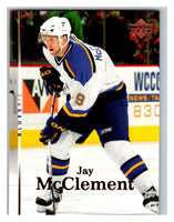 2007-08 Upper Deck #16 Jay McClement Blues