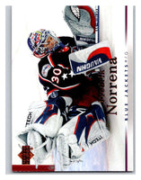 2007-08 Upper Deck #21 Fredrik Norrena Blue Jackets