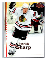 2007-08 Upper Deck #31 Patrick Sharp Blackhawks