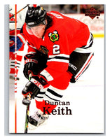 2007-08 Upper Deck #32 Duncan Keith Blackhawks