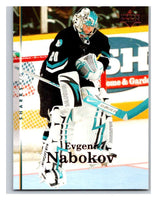2007-08 Upper Deck #78 Evgeni Nabokov Sharks