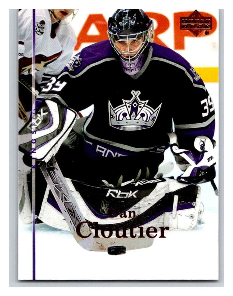 2007-08 Upper Deck #90 Dan Cloutier Kings
