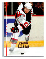 2007-08 Upper Deck #101 Patrik Elias NJ Devils