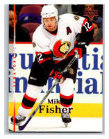 2007-08 Upper Deck #146 Mike Fisher Senators