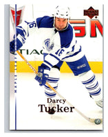 2007-08 Upper Deck #148 Darcy Tucker Maple Leafs