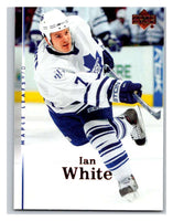 2007-08 Upper Deck #149 Ian White Maple Leafs