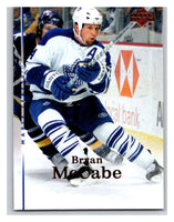 2007-08 Upper Deck #153 Bryan McCabe Maple Leafs