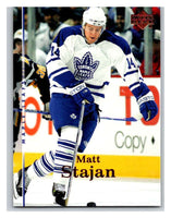 2007-08 Upper Deck #154 Matt Stajan Maple Leafs