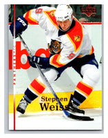 2007-08 Upper Deck #189 Stephen Weiss Panthers
