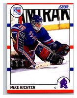 1990-91 Score #74 Mike Richter Mint RC Rookie
