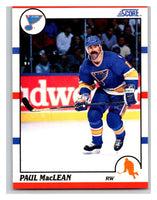 1990-91 Score #203 Paul MacLean Mint