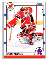 1990-91 Score #239 Chris Terreri Mint RC Rookie