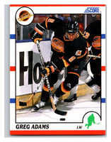 1990-91 Score #240 Greg Adams Mint