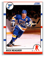 1990-91 Score #267 Rick Meagher Mint