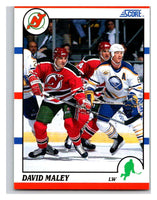 1990-91 Score #310 David Maley Mint RC Rookie