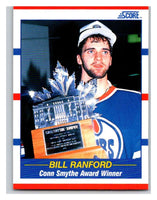 1990-91 Score #358 Bill Ranford TR Mint