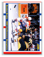 1990-91 Score #368 Boston Bruins/Washington Capitals UER Mint