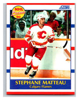1990-91 Score #381 Stephane Matteau Mint RC Rookie