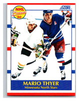 1990-91 Score #382 Mario Thyer Mint RC Rookie