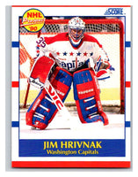 1990-91 Score #386 Jim Hrivnak Mint RC Rookie
