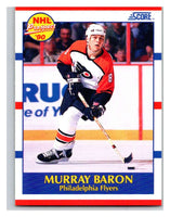 1990-91 Score #399 Murray Baron Mint RC Rookie