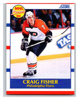 1990-91 Score #412 Craig Fisher Mint RC Rookie
