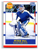 1990-91 Score #414 Peter Ing Mint RC Rookie