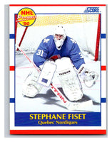 1990-91 Score #415 Stephane Fiset Mint RC Rookie